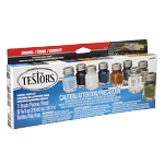 Military Flats Enamel Paint Set Testors Number 9131