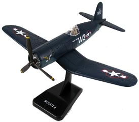 IN EZF4U F4U Corsair EZ Build Model Kit