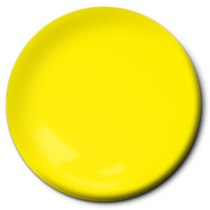 Fluorescent Racing Yellow (flat) Lacquer (2/3 oz) Pactra RC79