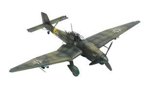 Junkers Ju 87 D Stuka Plastic Model Kit- 1:48 Scale- Skill Level 2 - Revell 5250