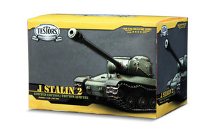 103524 Stalin IS-2 Tank 1:35 Scale Includes Display Case
