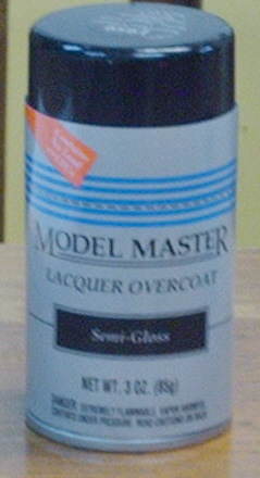 1959 Clear Satin Lacquer Overcoat (3 oz aerosol)