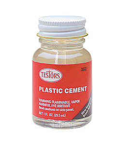Liquid Cement for Plastic (1 oz) Testors 3502