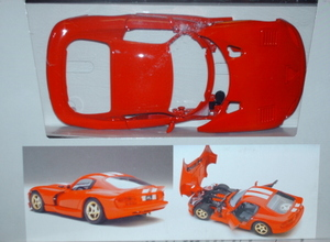 440013 Viper GTS Metal Body Model Kit
