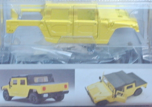 440031 Hummer Soft Top Metal Model Kit