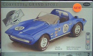 430018 1963 Corvette G/S Roadster Model Kit