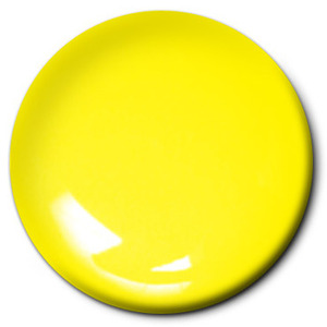 Fluorescent Yellow Enamel (1/4 oz) Testors 1177