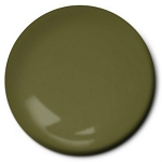 Olive Drab Acrylic Paint FS 34087 (1/2 oz) Model Master 4728