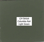 British Columbia Rail Light Green Acrylic Paint (1 ounce bottle) Tru-Color 124