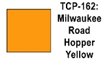 Milwaukee Road Hopper Yellow Acrylic Paint (1 ounce bottle) Tru-Color 162