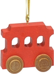 Red Trolley Christmas Tree Ornament Maple Landmark 60420