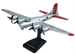 B-17 Flying Fortress Preassembled Highly Detailed Replica Plastic Model WowToyz IN17R