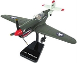 P-40 Warhawk Preassembled Highly Detailed Replica Plastic Model WowToyz IN40G