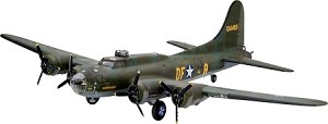 "B-17F ""Memphis Belle"" 1:48 Scale, 107 Pieces, Skill Level 5 Revell Germany 4297"