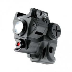 Red Laser Sight with 60 Lumen Light<>Rail Mounted<>Q-Series SC60-R<>NEBO 6119