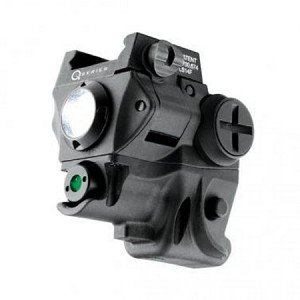 Green Laser Sight w/ 60 Lumen Light<>Rail Mounted<>Q-Series SC60-G<>NEBO 6120