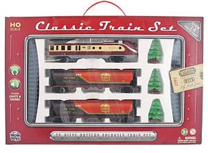 Deluxe Classic 20  Piece  Train Set WOW WT-TR20