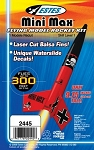 Mini Max Flying Model Rocket Kit UPC 047776024458
