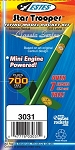 Star Trooper Flying Model Rocket Kit UPC 047776030312
