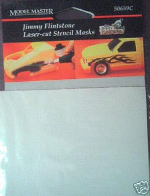 50689 Jimmy Flintstone Stencil Masks