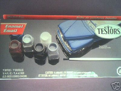 Enamel Paint Set Testors Number 9119