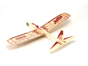 Balsa Wood Glider Airplane Kit Guillow 30