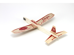 Starfire Balsa Wood Glider Airplane Kit