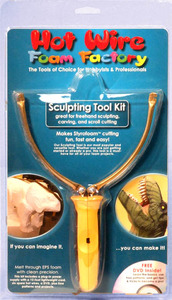 HW K02 Foam Sculpting Tool Kit-Great for freehand sculpting,carving,scroll cutting
