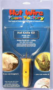 HW K11 Foam Hot Knife Kit-Plunge,Slice, and Dice-Works like hand-held scroll saw
