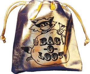 BAG DSKSTD01 Bag-O-Loot Card Game-Great family game-It's Addictive-Comes in Gold bag