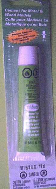 Cement for metal and wood models (5/8 oz) Testors 4505