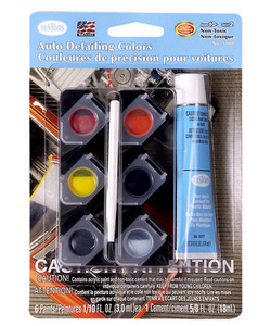 Auto Detailing Paint Set/Non-Toxic/Water Wash-Up