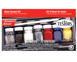 Gloss Enamel Paint Set Testors 9115