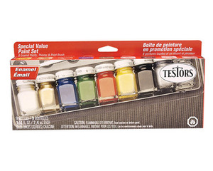 Enamel Paint Set Testors 9146