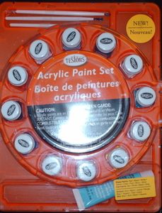 Acrylic Paint Set Testors 9178