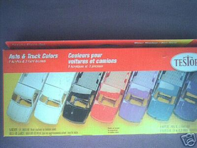 9197 Auto & Truck Colors Acrylic Paint Set