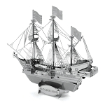 Golden Hind ship Metal Model Kit MMS049