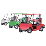 GOLF CART SET Metal Model Kit MMS108