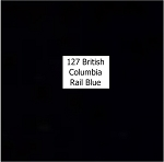 British Columbia Rail Blue Acrylic Paint (1 ounce bottle) Tru-Color 127