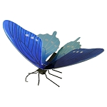 Pipevine Swallowtail Butterfly Metal Model Kit MMS128