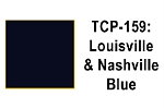 Louisville & Nashville Blue Acrylic Paint (1 ounce bottle) Tru-Color 159