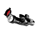 RM120LSR Rail Mount  Gun Light 120 Lumens plus Red Laser NEBO 6094