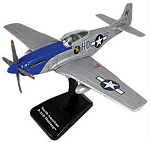 P-51 Mustang Preassembled Highly Detailed Replica Plastic Model WowToyz IN51S