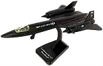 SR-71 Blackbird Preassembled Highly Detailed Replica Plastic Model WowToyz IN71